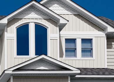 how to install vertical siding on a gable end