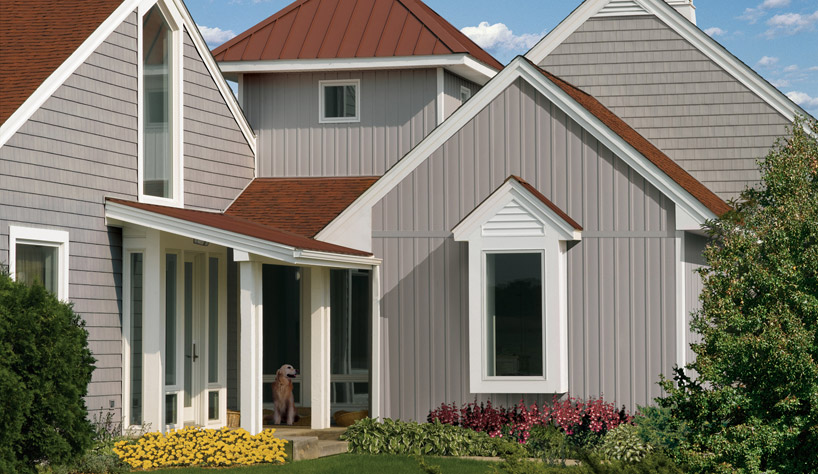 Vertical siding for Vertical steel siding